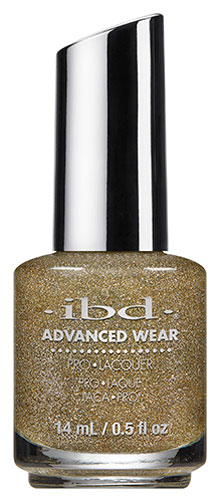 ibd Advanced Wear All That Glitters| Top 10 ibd Advanced Wear Manicure + Drink Combos; check it out at http://www.nailpro.com/advanced-wear-manicure