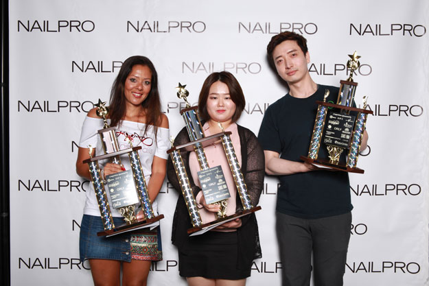 3D Nail Art Novice Winners | IBS 2016 NAILPRO Cup Winners; check it out at http://www.nailpro.com/nailpro-cup-2016