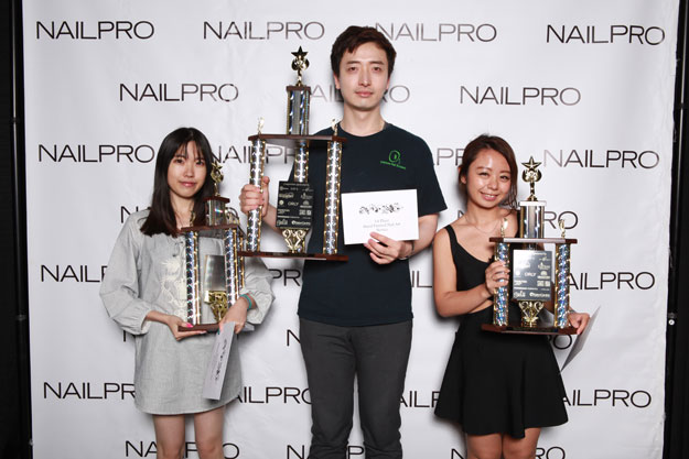 Hand-Painted Nail Art: What's In Your Wallet Novice Winners | IBS 2016 NAILPRO Cup Winners; check it out at http://www.nailpro.com/nailpro-cup-2016