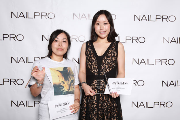 Hand Painted Nail Art: What's in Your Wallet Winners | IBS 2016 NAILPRO Cup Winners; check it out at http://www.nailpro.com/nailpro-cup-2016