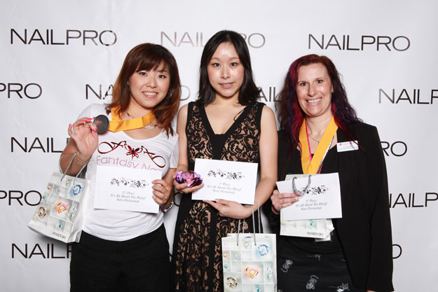 It's All About the Bling Swarovski Nail Art Winners | IBS 2016 NAILPRO Cup Winners; check it out at http://www.nailpro.com/nailpro-cup-2016