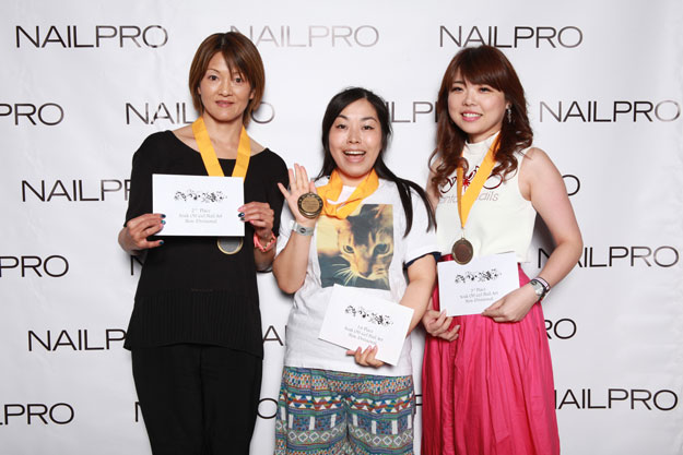 Soak-Off Gel Nail Art Winners | IBS 2016 NAILPRO Cup Winners; check it out at http://www.nailpro.com/nailpro-cup-2016