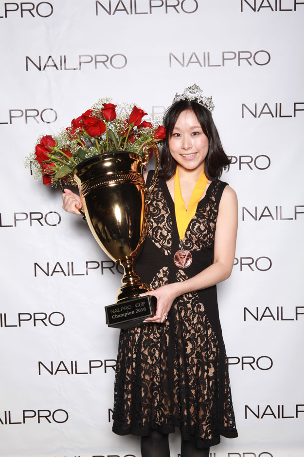NAILPRO Cup Champion Shiori Durham | IBS 2016 NAILPRO Cup Winners; check it out at http://www.nailpro.com/nailpro-cup-2016