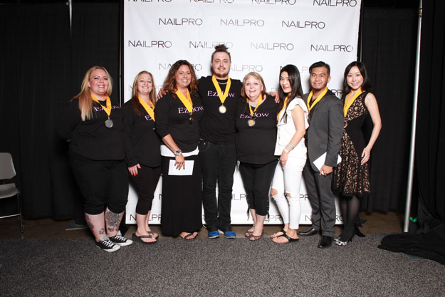 Tip and Overlay: One Model, Three Competitors Winners | IBS 2016 NAILPRO Cup Winners; check it out at http://www.nailpro.com/nailpro-cup-2016