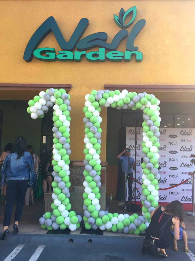 Nail Garden Celebrates 10-Year Anniversary with UCLA