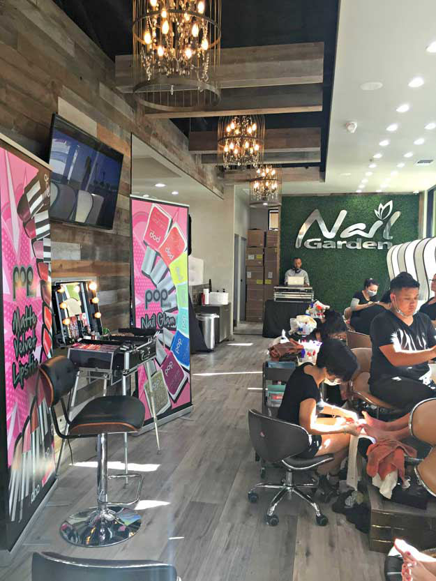 nail garden celebrates 10 year anniversary with ucla