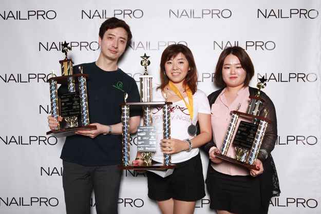 Extreme Stiletto Design Novice Winner | IBS 2016 NAILPRO Cup Winners; check it out at http://www.nailpro.com/nailpro-cup-2016