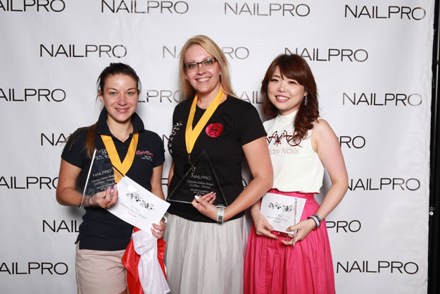 Extreme Stiletto Design Veteran Winner | IBS 2016 NAILPRO Cup Winners; check it out at http://www.nailpro.com/nailpro-cup-2016