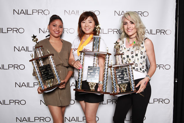 Salon Success Novice Winners | IBS 2016 NAILPRO Cup Winners; check it out at http://www.nailpro.com/nailpro-cup-2016