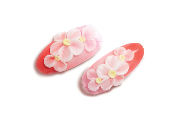 Nail Art Tutorial: How to Create a 3-D Acrylic Flower; see the step-by-step tutorial at http://www.nailpro.com/3d-flower