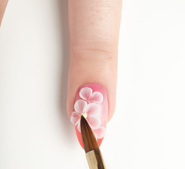 Nail Art Tutorial How To Create A 3 D Acrylic Flower Nail Pro