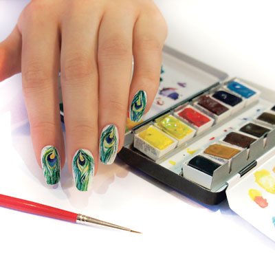 How to do Aquarelle, The Newest Nail Art Trend   Nail Pro