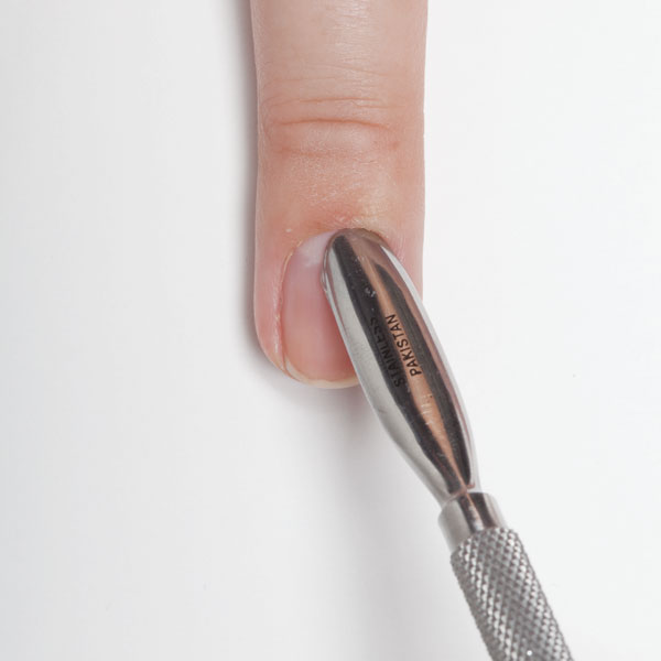 how to use an electric cuticle pusher