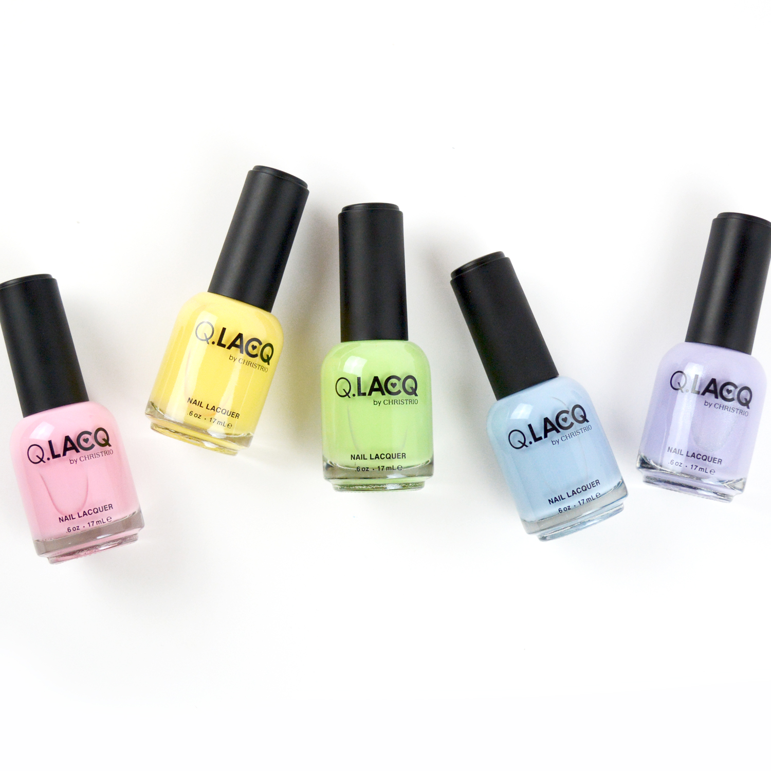 G.LACQ Releases Essential Pastel Shades For Spring