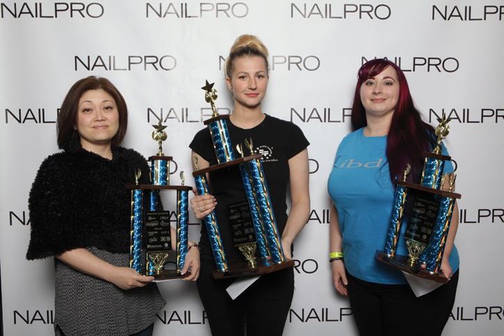 NAILPRO competitions ISSE 2017