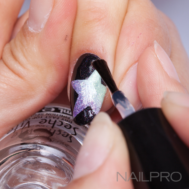 My little pony inspired cover nails by new york nail artist naomi rainbow star nails prinsesfo Gallery