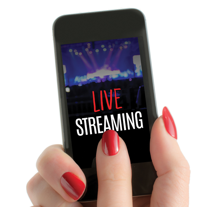live streaming mobile phone