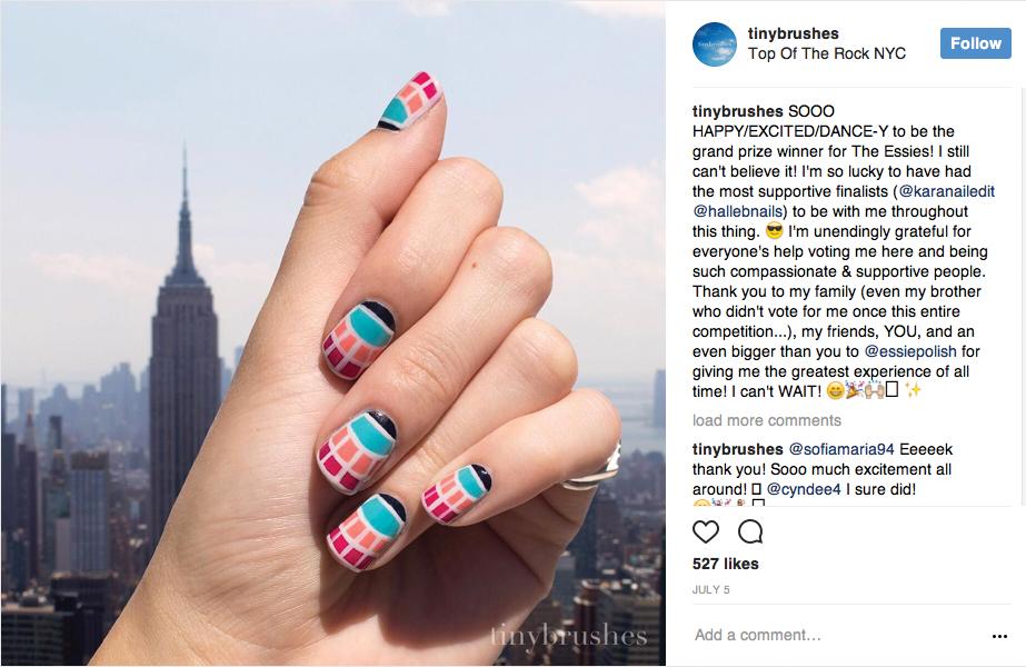 Essie Announces LA-based Nail Artist as its 2017 Nail Art Ambassador