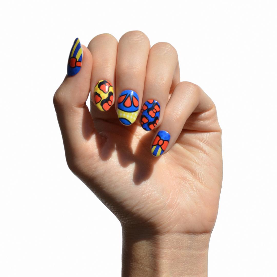 Disney nail wrap