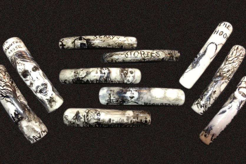 Amanda Lenher nail art