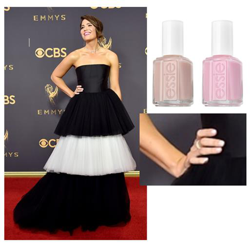 Emmys 2017: Essie's Soft Pink Manicure for Mandy Moore