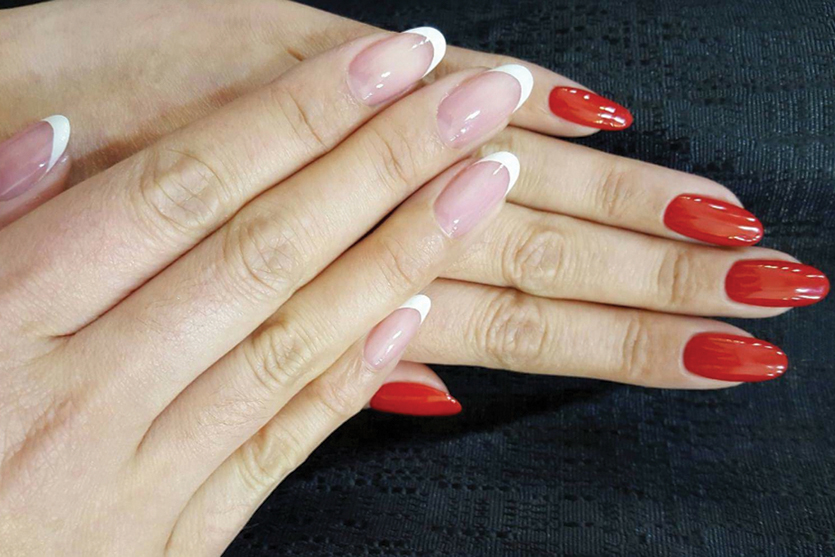 Shiori Durham nail art