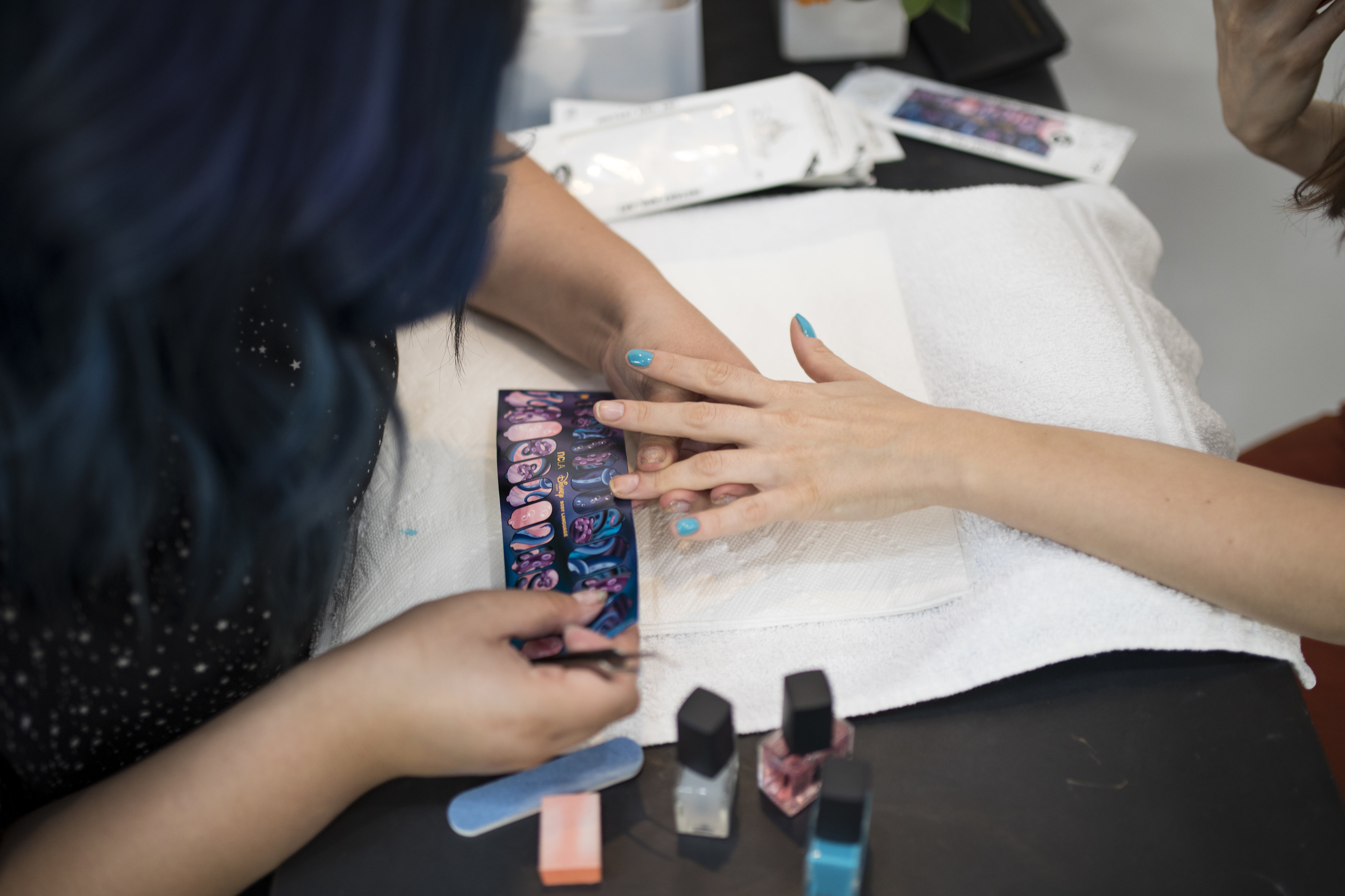 NCLA+Shop Disney Manicure