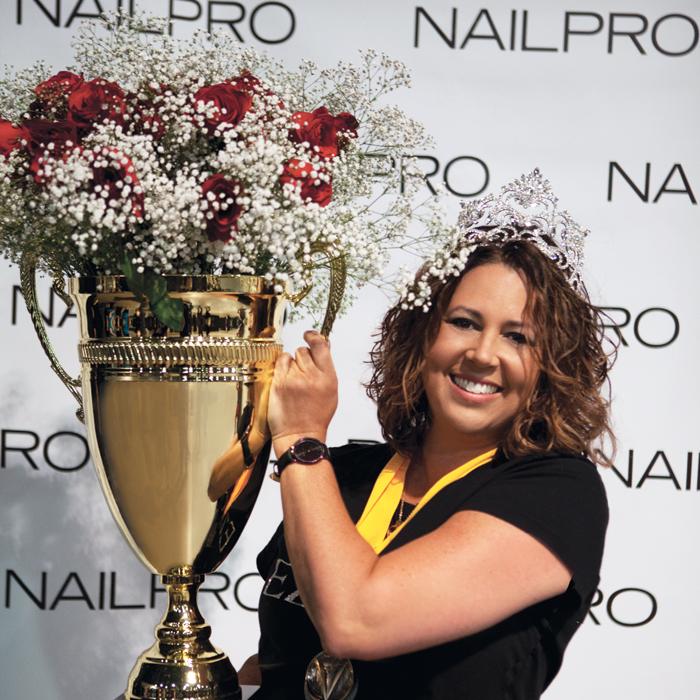 Nailpro Cup Winner Allie Baker