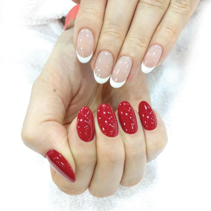 soak-off gel nails