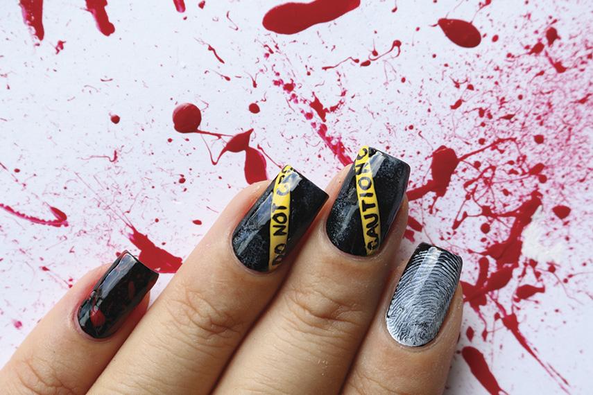 set of nail art