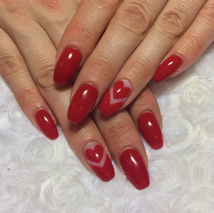 7 Valentine's Day Nail Art Looks To Fall In Love With
