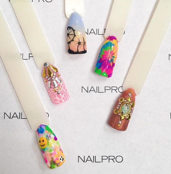 Video 3 Festival Nail Art Tutorials