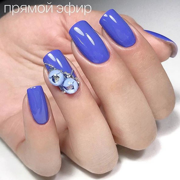 Candy Ball Aka Bubble Flower Nails Are Now Trending