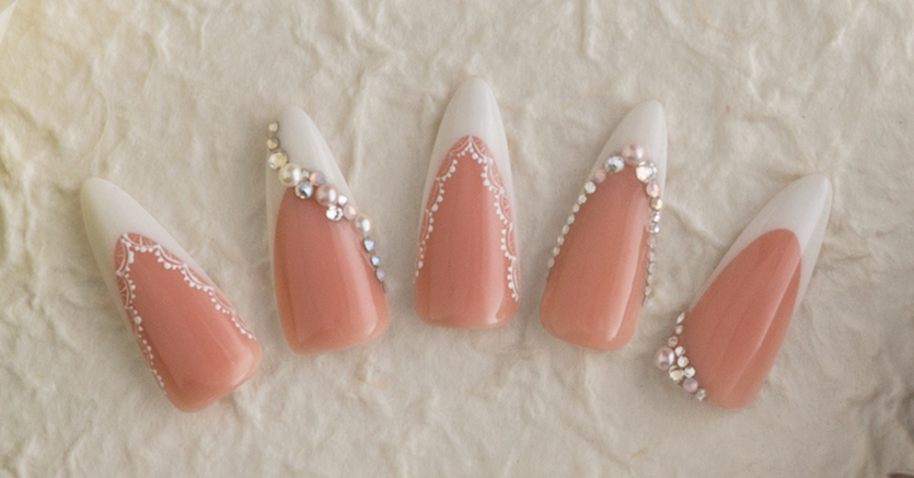 Bride En Vogue Nail Art Inspired By Timeless Tradition Nailpro