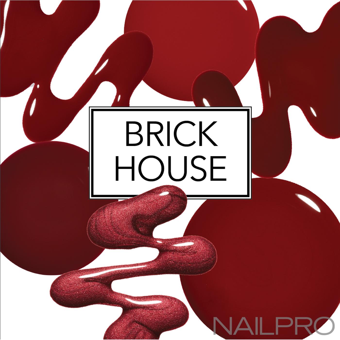 brick red polish