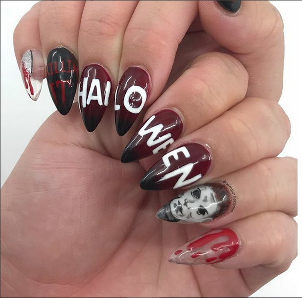 michael myers nails