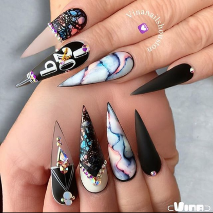 New Year Nail Designs Inspire Instagram Nailpro