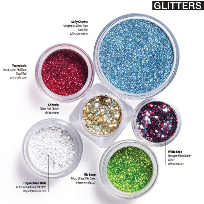 Create Dazzling Designs with a Slew of Glittering Effects - Nailpro