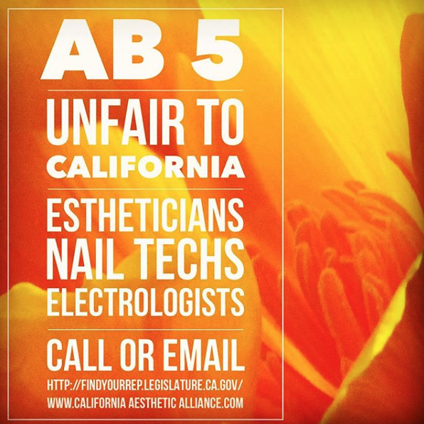 Potential California Law Would Prohibit Nail and Skincare