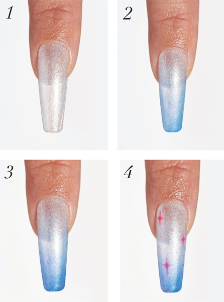 Create Ombre Nail Art With The Light Elegance Enchanted