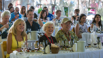 #2 Benefit (new to the list) In 2015, the auction raised $4.5 million for kids' education in Sonoma County. The food-centric function brings together 200 winemakers and top chefs over Labor Day weekend. Next: September 2-4, 2016