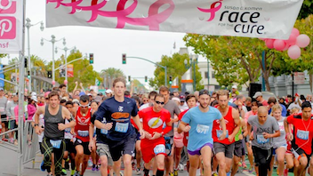 #10 Sports Event (new to the list) Since its inception 25 years ago, the 5K race has raised significant money for breast cancer research. Organizers call it 'the world's largest and most successful education and fund-raising event for breast cancer ever created.' Next: Fall 2016