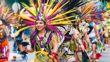 "#4 Parade, Holiday Event & Fair Billed as ""the largest multicultural celebration on the West Coast,"" the event celebrates Latin American and Caribbean culture. It draws 400,000 guests and includes a grand parade with 52 marching and dancing contingents and floats. Next: May 2016"