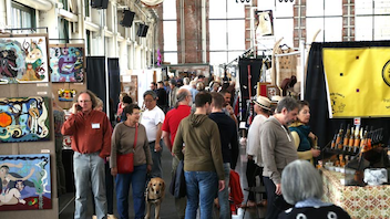#9 Art & Design Event Known as the largest weekend holiday arts fair of its kind in Northern California, the event benefits listener-funded radio station KPFA 94.1. It offers handmade goods from more than 200 exhibitors. Next: December 19-20, 2015