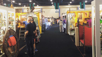 #9 Trade Show, Expo & Convention With the Miami Beach Convention Center closed for renovations, the show moved to the Miami-Dade County Fair Expo Center, a location it will keep next year. It is considered the largest indoor antique show in America thanks to more than 600 recognized dealers from 28 countries presenting over the course of four days. The relocation hasn't hurt attendance: Upwards of 18,000 antique-lovers, collectors, and curators continue to visit the show each year. Next: February 2019