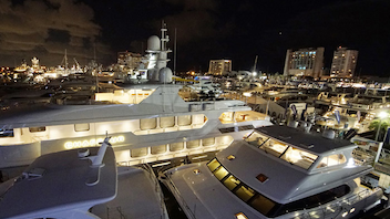 """#1 Trade Show, Expo & Convention With Fort Lauderdale's reputation as the """"Yachting Capital of the World,' it is no surprise it is home to the largest in-water boat show worldwide. In 2017, the 58th edition of the event ran across seven locations in Fort Lauderdale, spanning three million square feet of exhibit space and attracting 105,000 visitors. The event has 1,000 exhibitors and more than 1,200 boats on display, as well as courses sponsored by Carefree Boat Club and kids fishing clinics. In an attempt to boost social engagement, the show embraced #FLIBS for promotions and postings. Next: October 21-November 4, 2018"""