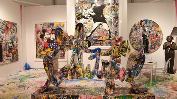 #3 Art & Design Event For 2017, the fair, along with sister event Context Art Miami, moved to its new permanent home at the former Miami Herald site on Biscayne Bay. Its 28th edition drew record sales opening night, with a single piece selling for $4 million within the event's first hour. The V.I.P. previews for both Art Miami and Context Art Miami were sponsored by Christie's International Real Estate and benefited the Pérez Art Museum Miami. Preview attendees included Jorge and Darlene Perez, Amar'e Stoudemire , and Frank Ocean. Next: December 4-9, 2018