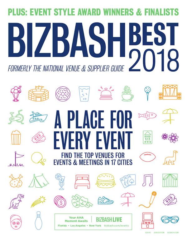 BizBash Magazine 2018 BizBash Best