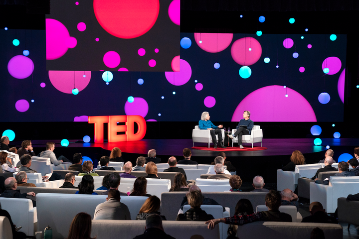 McCartney produced all of TED's conferences for 18 years.