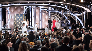 Los Angeles Andy Samberg and Sandra Oh co-hosted the 76th annual Golden Globes, which took a lighter turn after last year's focus on Hollywood and the #MeToo movement. The Hollywood Foreign Press Association gave top honors to Bohemian Rhapsody and Green Book for best films, and The Americans and The Kominsky Method were named television's best series. Fox, Amazon Prime Video, HBO, Warner Bros., and Netflix all hosted after-parties in different parts of the Beverly Hilton. The NBC telecast garnered 18.6 million viewers. Next: January 5, 2020 See more: Golden Globes 2019: Get Inspired by This Year's Glamorous Parties